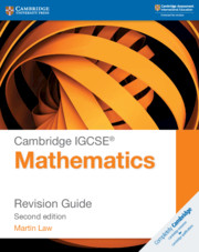 Cambridge IGCSE® Mathematics Revision Guide