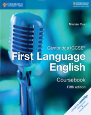 Cambridge IGCSE® First Language English Coursebook