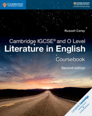 Cambridge IGCSE® and O Level Literature in English