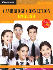 Cambridge Connection English Level 7 Workbook for ICSE Schools
