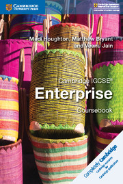 Cambridge IGCSE® Enterprise Coursebook