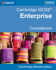 Cambridge IGCSE® Enterprise Coursebook Cambridge Elevate Edition (2 Years)