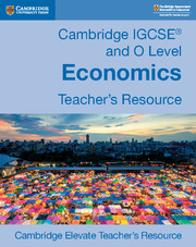 Cambridge IGCSE® and O Level Economics Cambridge Elevate Teacher's Resource Access Card