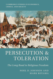 Persecution and Toleration
