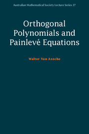 Orthogonal Polynomials and Painlevé Equations