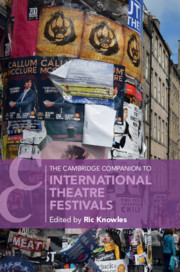 The Cambridge Companion to International Theatre Festivals