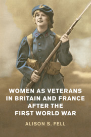 Women as Veterans in Britain and France after the First World War
