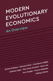 Modern Evolutionary Economics