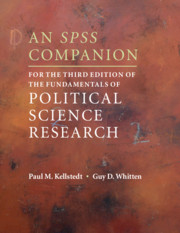 An SPSS Companion for the Third Edition of The Fundamentals of Political Science Research