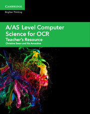 A/AS Level Computer Science for OCR Teacher's Resource Cambridge Elevate Edition (Updated 2017)