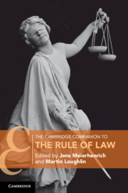 The Cambridge Companion to the Rule of Law