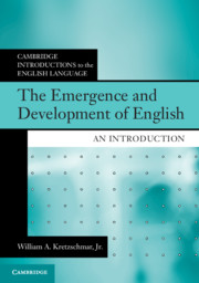Cambridge Introductions to the English Language
