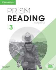 Prism Reading Level 3 Teacher's Manual