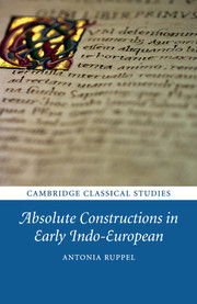 Absolute Constructions in Early Indo-European