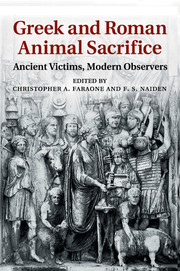 Greek and Roman Animal Sacrifice