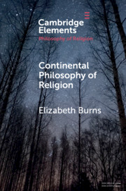 Continental Philosophy of Religion Book Cover