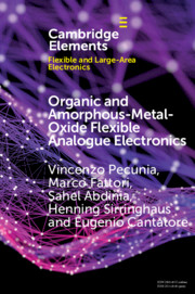 Organic and Amorphous-Metal-Oxide Flexible Analogue Electronics