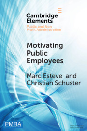 Elements in Public and Nonprofit Administration