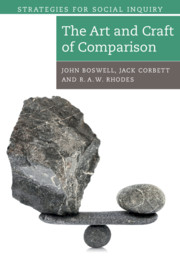 The Art and Craft of Comparison