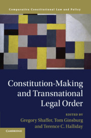 Comparative Constitutional Law and Policy