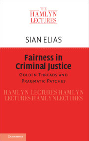 Fairness in Criminal Justice