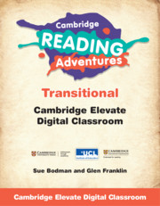 Cambridge Reading Adventures Green to White Bands Transitional Cambridge Elevate Digital Classroom (1 Year)