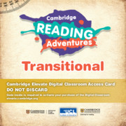 Cambridge Reading Adventures Green to White Bands Transitional Cambridge Elevate Digital Classroom Access Card (1 Year)