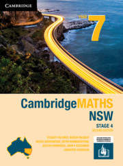 Cambridge Maths Stage 4 NSW Year 7