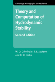 Theory and Computation in Hydrodynamic Stability