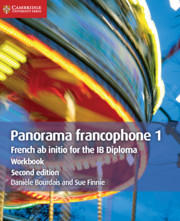 Panorama francophone 1 Workbook