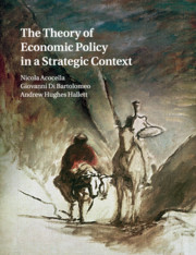 The Theory of Economic Policy in a Strategic Context