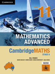 Cambridge Maths Stage 6 NSW Advanced Year 11
