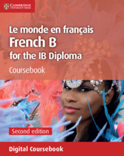 Le monde en français Coursebook Cambridge Elevate Edition (2 Years)