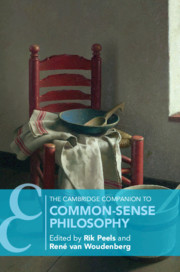 The Cambridge Companion to Common-Sense Philosophy Couverture du livre