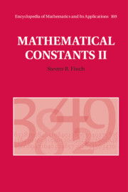 Mathematical Constants II