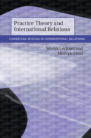 Practice Theory and International Relations