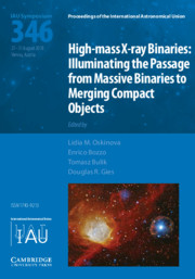 High-mass X-ray Binaries (IAU S346)
