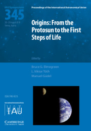 Origins: From the Protosun to the First Steps of Life (IAU S345)
