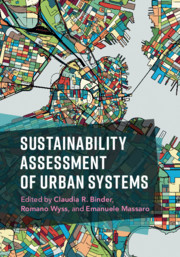 Sustainability Assessments of Urban Systems
