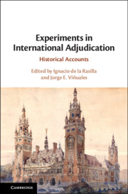 Experiments in International Adjudication