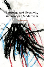 Language and Negativity in European Modernism