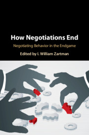 How Negotiations End