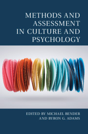 Methods and Assessment in Culture and Psychology