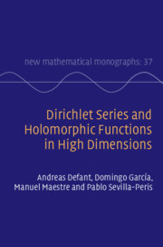 Dirichlet Series and Holomorphic Functions in High Dimensions