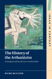 The History of the Arthaśāstra