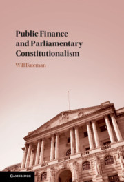 Public Finance and Parliamentary Constitutionalism