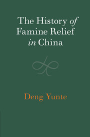 The History of Famine Relief in China