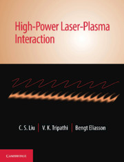 High-Power Laser-Plasma Interaction
