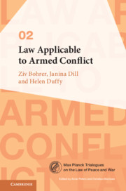 Law Applicable to Armed Conflict