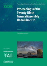 Proceedings of the Twenty-Ninth General Assembly Honolulu 2015